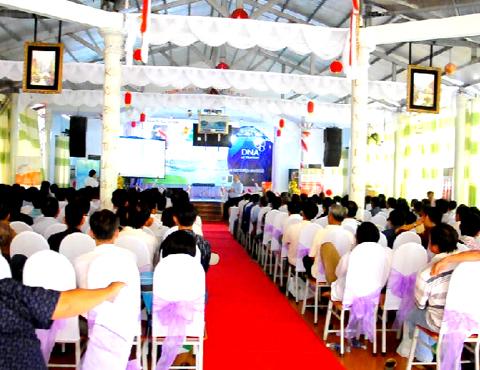 Tổ chức Sự kiện, Liên hoan tại Hội Quán Chú Cuội