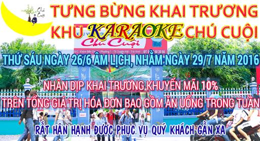 karaoke chú cuội duyên hải